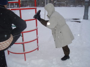 занятия ушу зимой