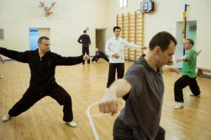 Занятия традиционным ушу Москва