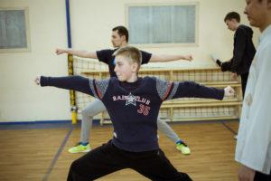 Занятия ушу в Москве