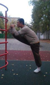 Упражнение для развития гибкости